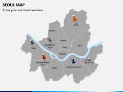 Seoul Map PPT Slide 3