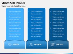 Vision and Targets PPT Slide 6