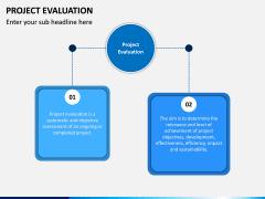 Project Evaluation PPT Slide 1