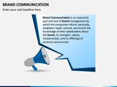 Brand Communication PPT Slide 1