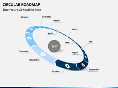 Circular Roadmap PPT Slide 4
