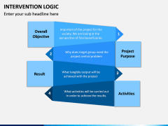 Intervention Logic PPT Slide 4