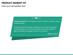 Product Market Fit PPT slide 17