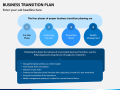 Business Transition Plan PPT Slide 14