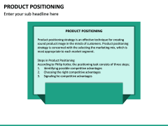 Product Positioning PPT Slide 18