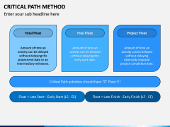 Critical Path Method PPT Slide 13