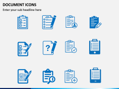 Document Icons PPT Slide 3
