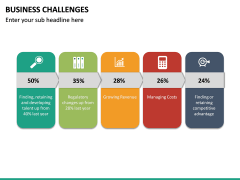 Business Challenges PPT Slide 27