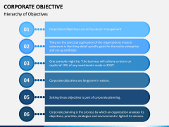 Corporate Objective PPT Slide 3