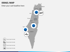 Israel Map PPT slide 5