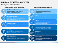 Physical Fitness Framework PPT Slide 5