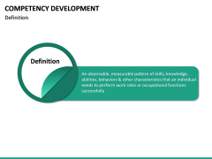 Competency Development PPT slide 17