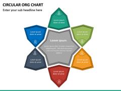 Circular ORG Chart PPT Slide 43