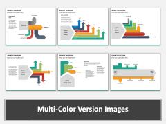 Sankey Diagram Multicolor Combined