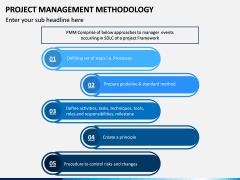 Project Management Methodology PPT Slide 1