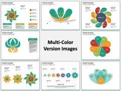 Flower diagram PPT slide MC Combined