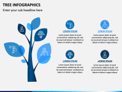 Tree Infographics PPT Slide 13
