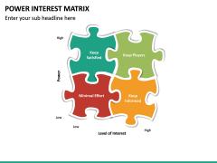 Power Interest Matrix PPT Slide 11
