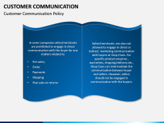 Customer Communication PPT Slide 6