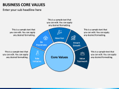 Business Core Values PPT Slide 5