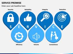 Service Promise PPT slide 1