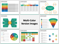 Six Roles of Buying Multicolor Combined