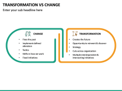 Transformation Vs Change PPT Slide 12
