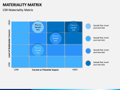 Materiality Matrix PPT Slide 4