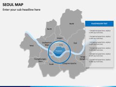 Seoul Map PPT Slide 7