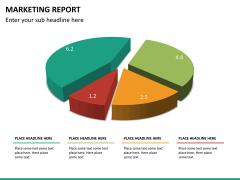 Marketing report PPT slide 24