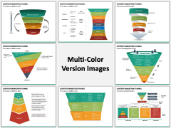Content Marketing Funnel PPT Slide MC Combined