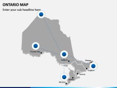 Ontario Map PPT Slide 5