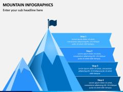 Mountain Infographics PPT Slide 1