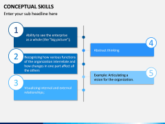 Conceptual Skills PPT Slide 5
