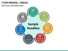 7 Step Process - Circles PPT slide 2