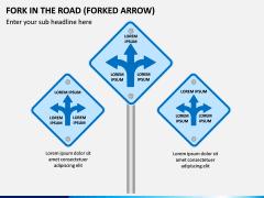 Fork in the Road PPT Slide 1