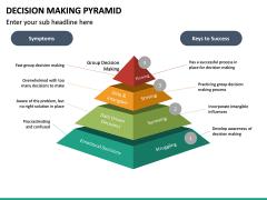 Decision Making Pyramid PPT Slide 16