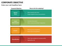 Corporate Objective PPT Slide 25