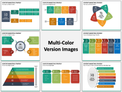 Content Marketing Strategy Multicolor Combined