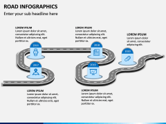 Road Infographics PPT Slide 15