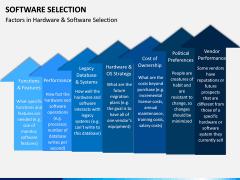Software Selection PPT Slide 11