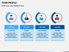 Team Profile PPT Slide 4