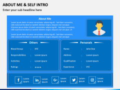 About Me / Self Intro PPT Slide 2