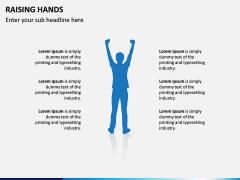 Raising Hands PPT Slide 11