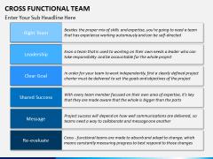 Cross functional teams PPT slide 11