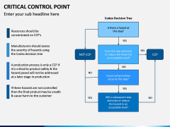 Critical Control Point PPT Slide 12