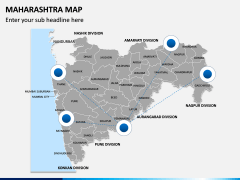 Maharashtra Map PPT Slide 4