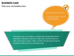 Business Case PPT slide 19