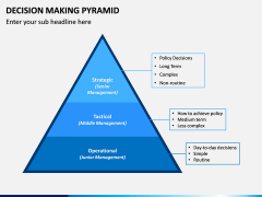 Decision Making Pyramid PPT Slide 10