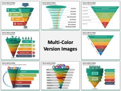 Social Media Funnel multicolor combined